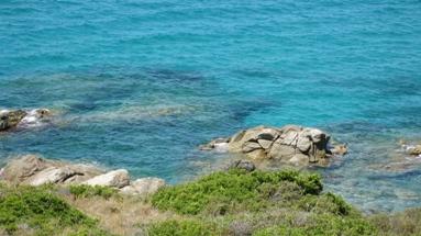 Ile Rousse water